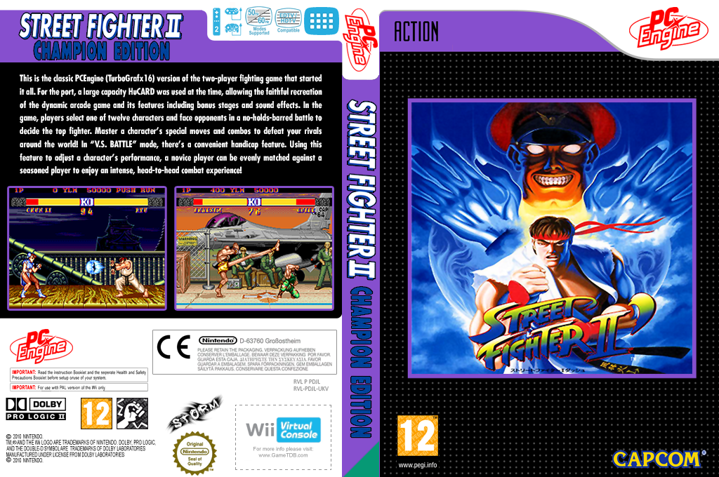 Street Fighter II' : Champion Edition Array coverfullHQ (PDJL)