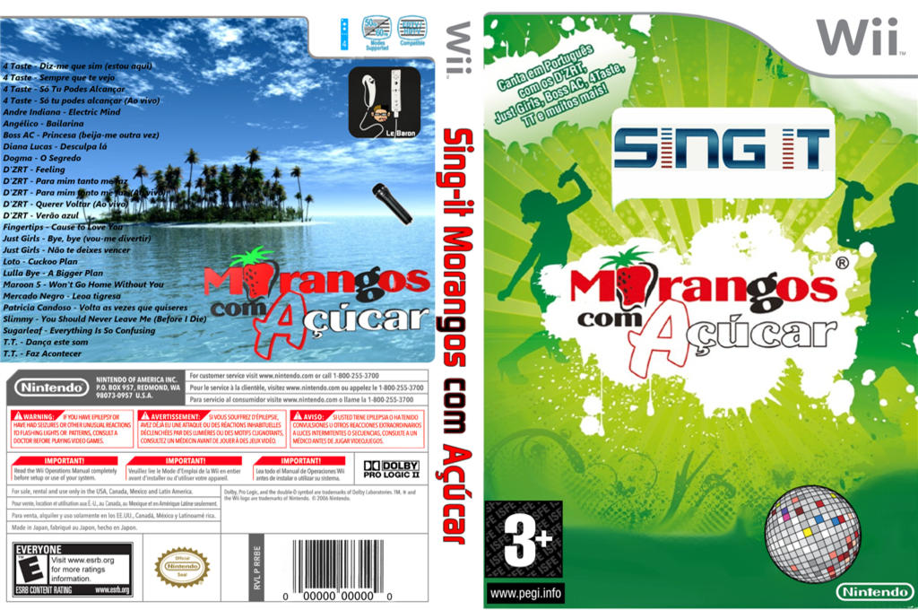 Sing IT Portugal Hits - Morangos com Açucar Wii coverfullHQ (PT3PSI)