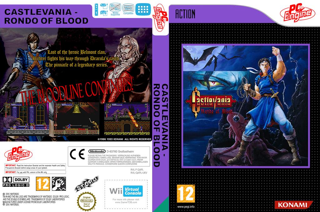 Castlevania : Rondo of Blood Wii coverfullHQ (QAPL)