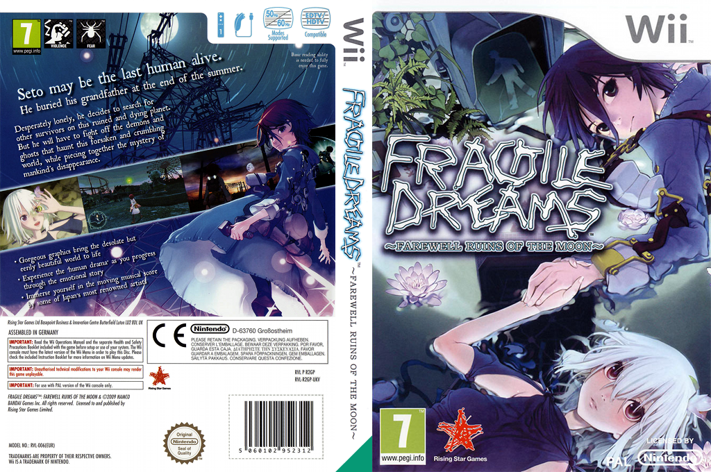 Fragile Dreams: Farewell Ruins of the Moon Wii coverfullHQ (R2GP99)