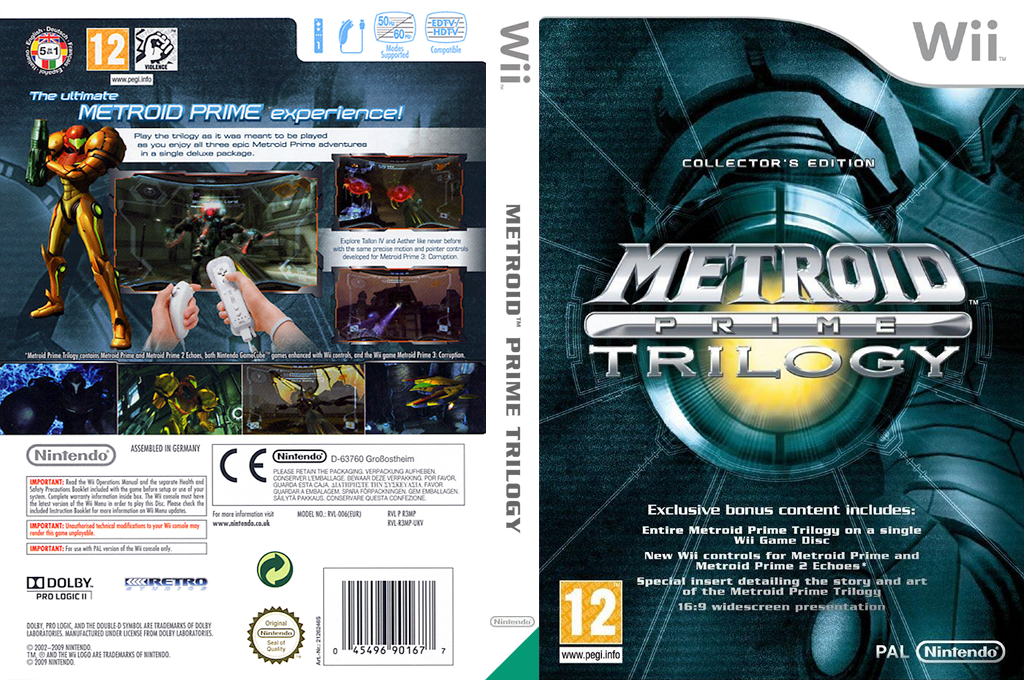 Metroid Prime: Trilogy Wii coverfullHQ (R3MP01)