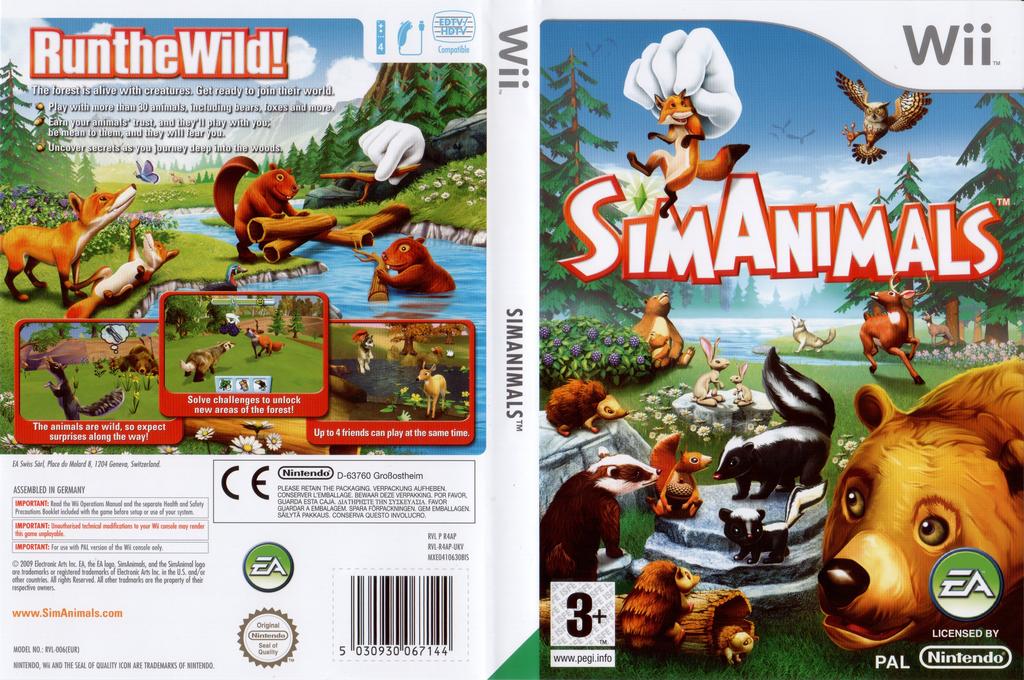SimAnimals Wii coverfullHQ (R4AP69)
