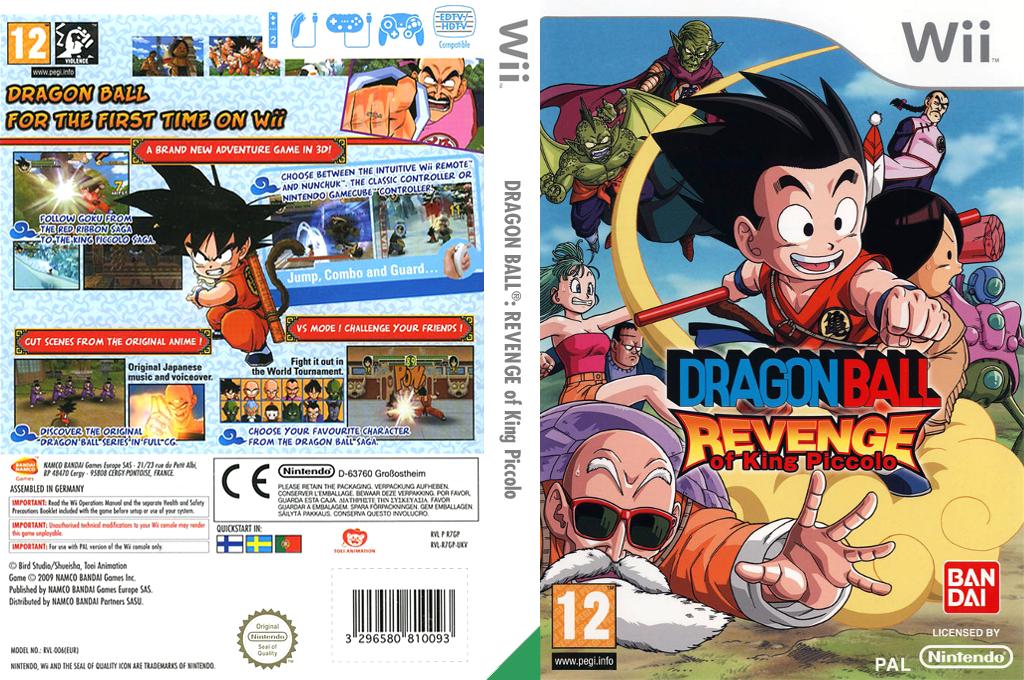 Dragon Ball: Revenge of King Piccolo Array coverfullHQ (R7GPAF)