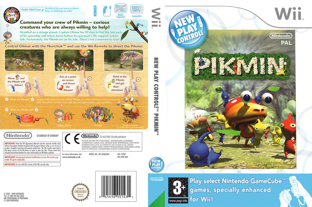 Pikmin Array coverfullHQ (R9IP01)