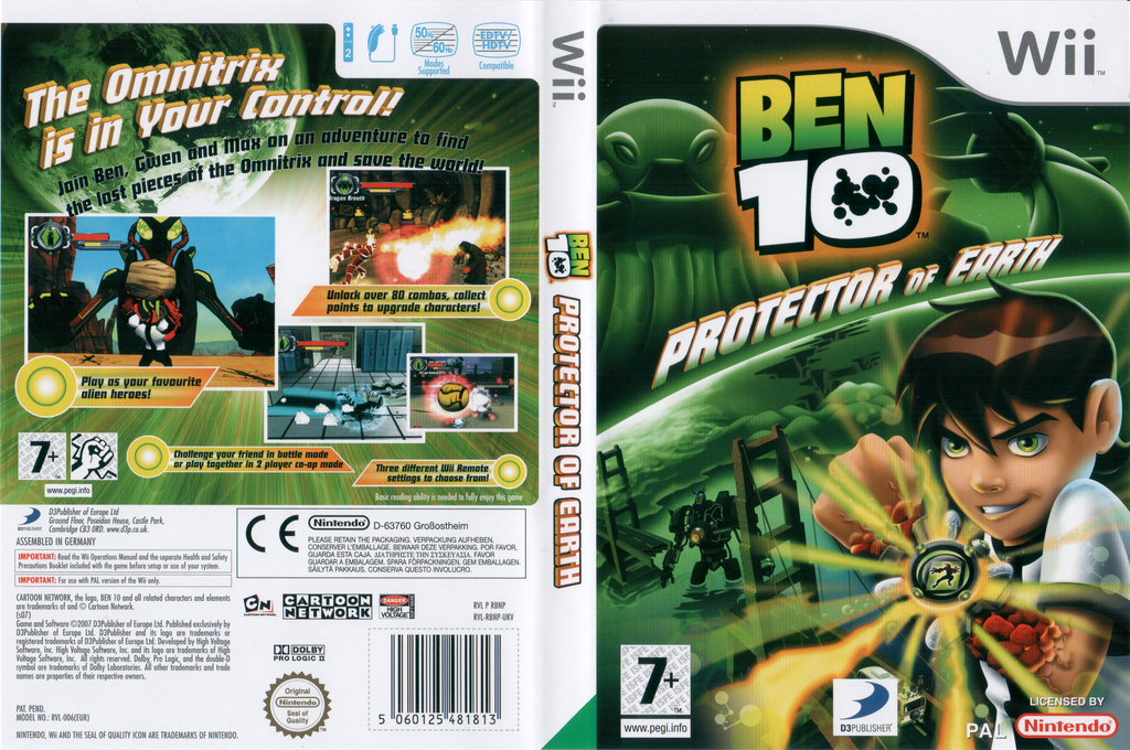 Ben 10: Protector of Earth Wii coverfullHQ (RBNPG9)