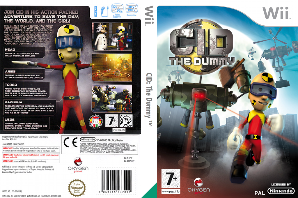 CID: The Dummy Wii coverfullHQ (RC9PGN)