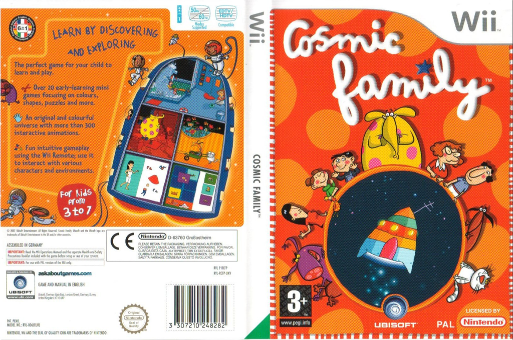 Cosmic Family Wii coverfullHQ (RCFP41)