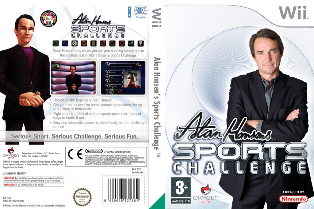 Alan Hansen's Sports Challenge Wii coverfullHQ (RCKPGN)