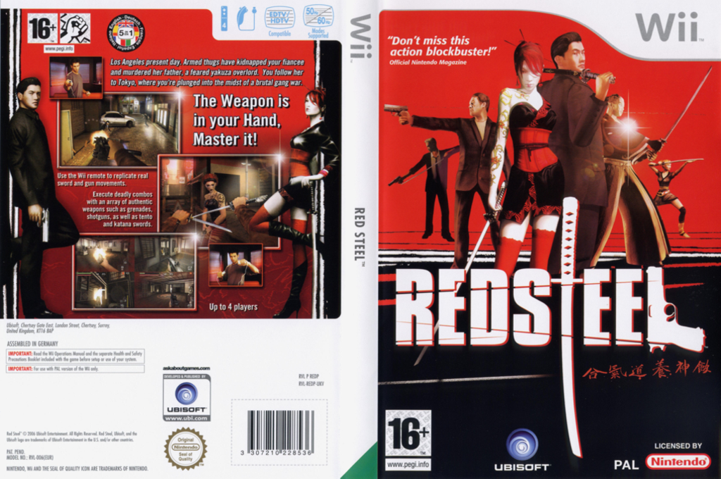 Red Steel Wii coverfullHQ (REDP41)