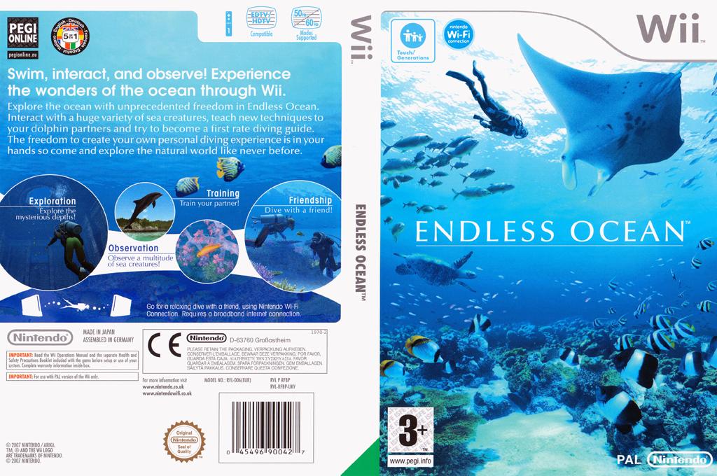 Endless Ocean Wii coverfullHQ (RFBP01)