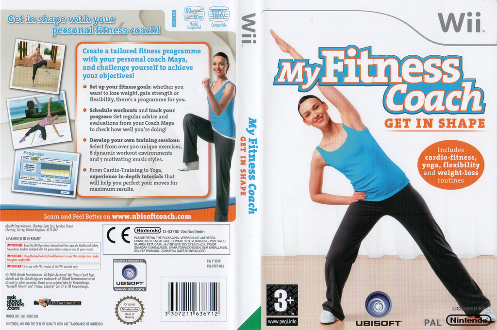 My Fitness Coach: Get In Shape Wii coverfullHQ (RFKX41)