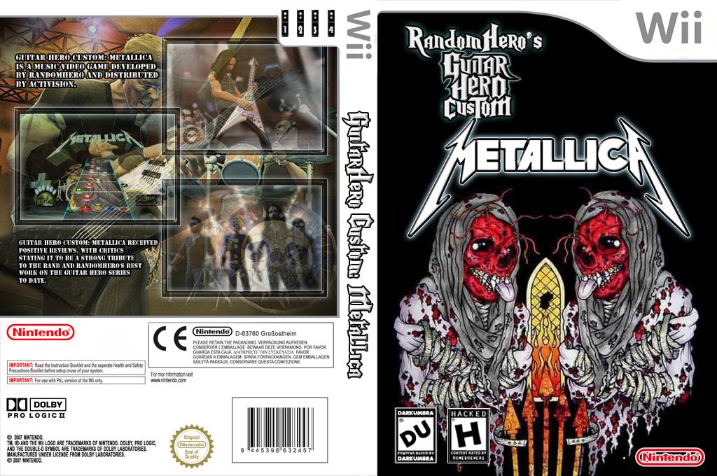 Guitar Hero III Custom:Metallica Wii coverfullHQ (RGCM52)