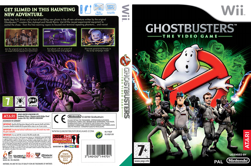 Ghostbusters: The Video Game Wii coverfullHQ (RGQP70)