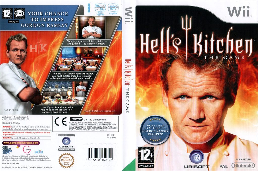 Hell's Kitchen Wii coverfullHQ (RH2P41)