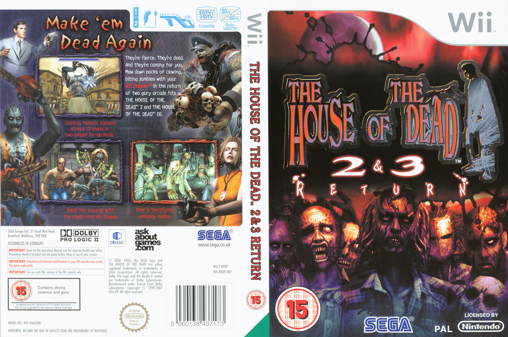 The House of the Dead 2 & 3 Return Array coverfullHQ (RHDP8P)