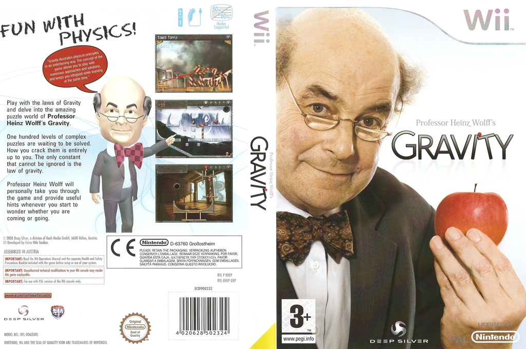 Professor Heinz Wolff's Gravity Array coverfullHQ (RHEPKM)