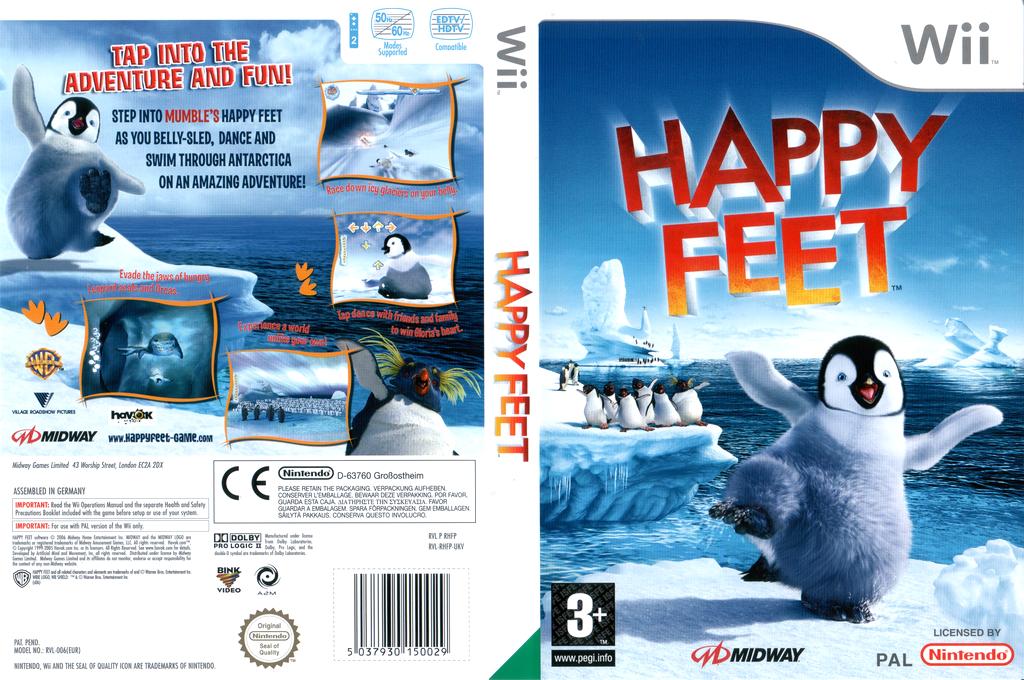 Happy Feet Wii coverfullHQ (RHFP5D)