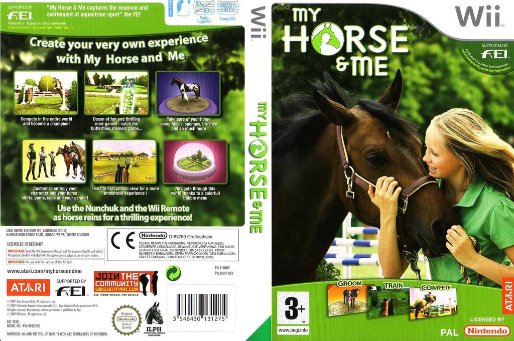 My Horse & Me Wii coverfullHQ (RHNP70)