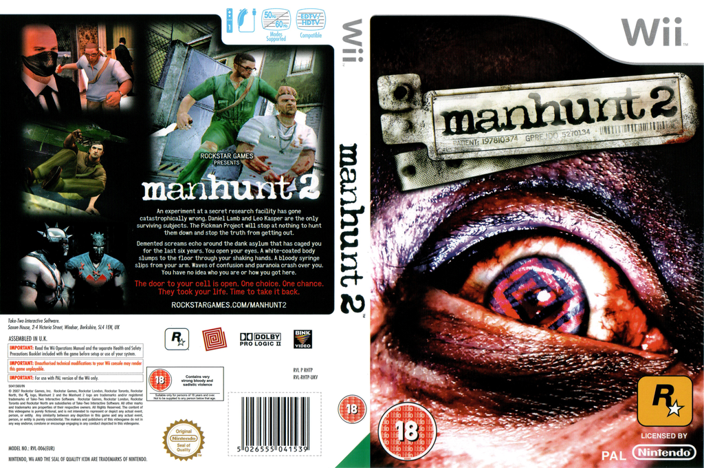 Manhunt 2 Array coverfullHQ (RHTP54)