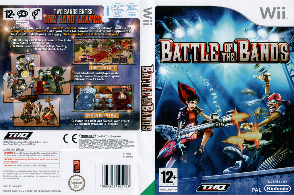 Battle of the Bands Wii coverfullHQ (RHXP78)