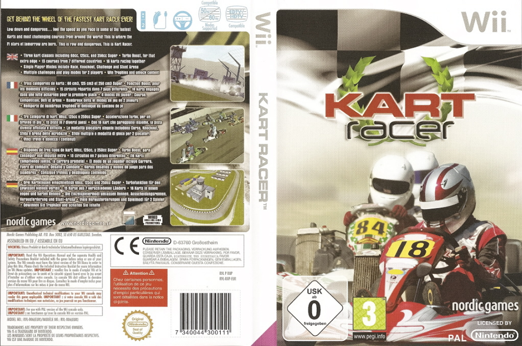 Kart Racer Wii coverfullHQ (RIIPNG)