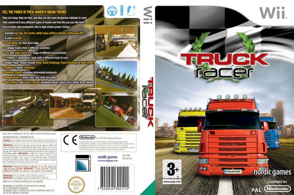 Truck Racer Wii coverfullHQ (RIKPNG)