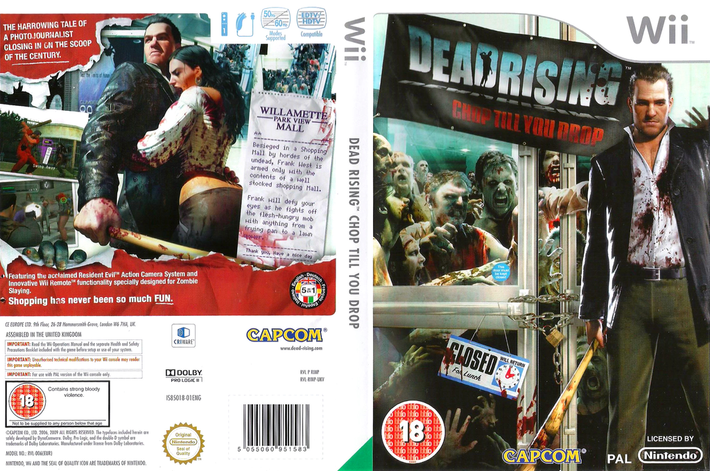 Dead Rising: Chop Till You Drop Wii coverfullHQ (RINP08)