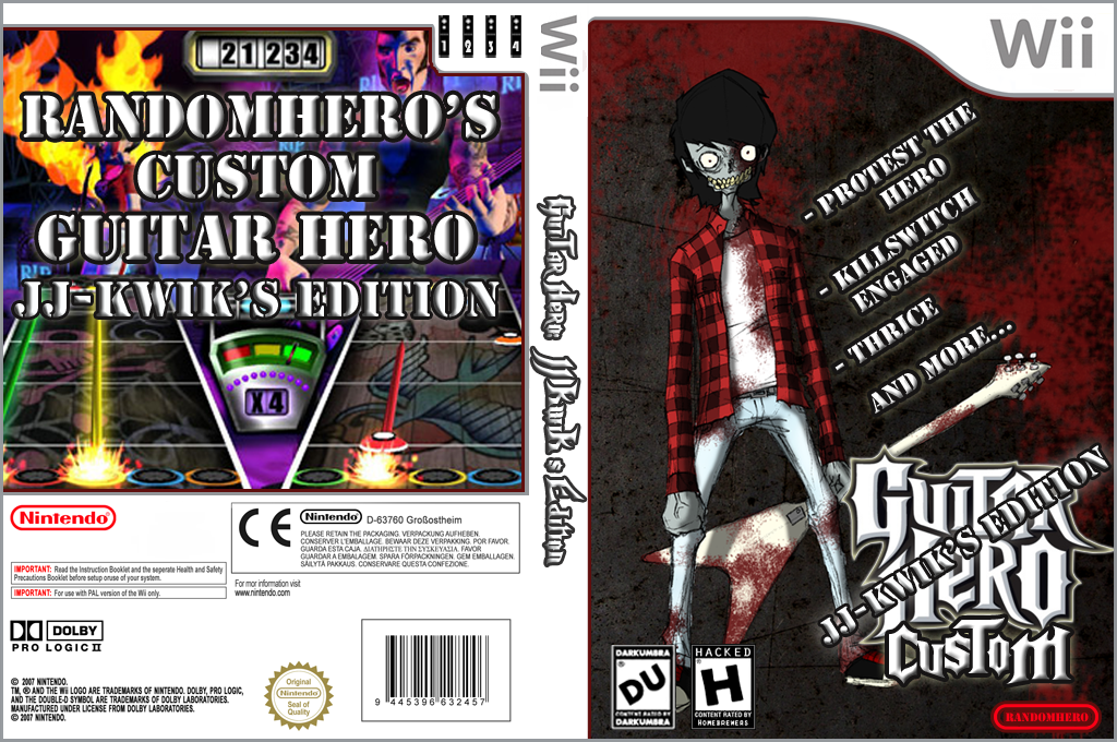 Guitar Hero III Custom:JJ-KwiK's Edition Wii coverfullHQ (RJJG52)
