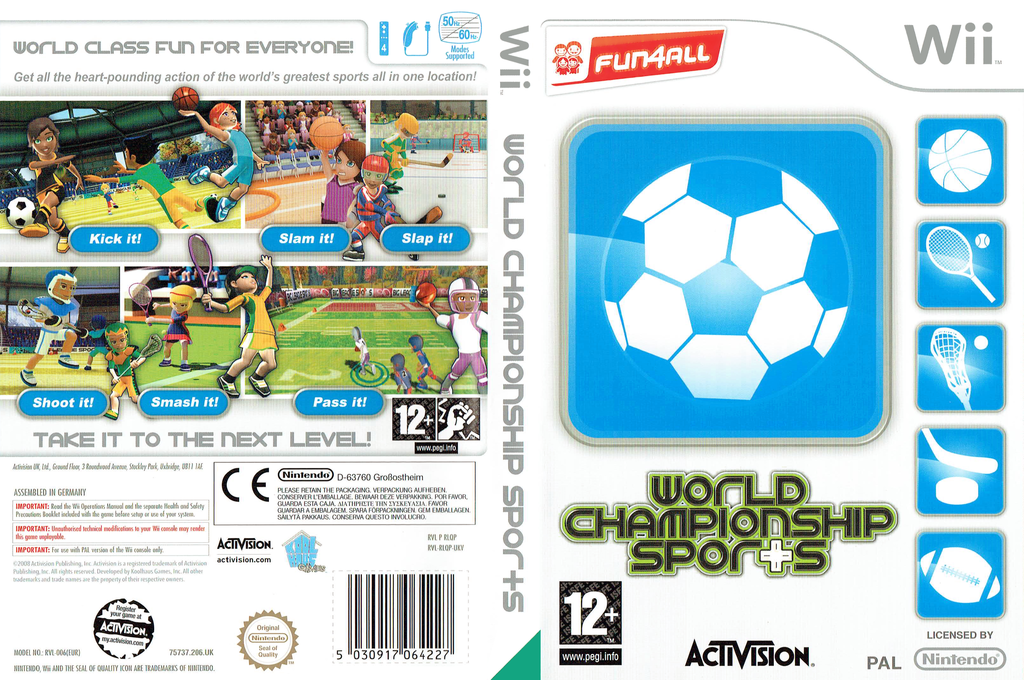 World Championship Sports Wii coverfullHQ (RLQP52)