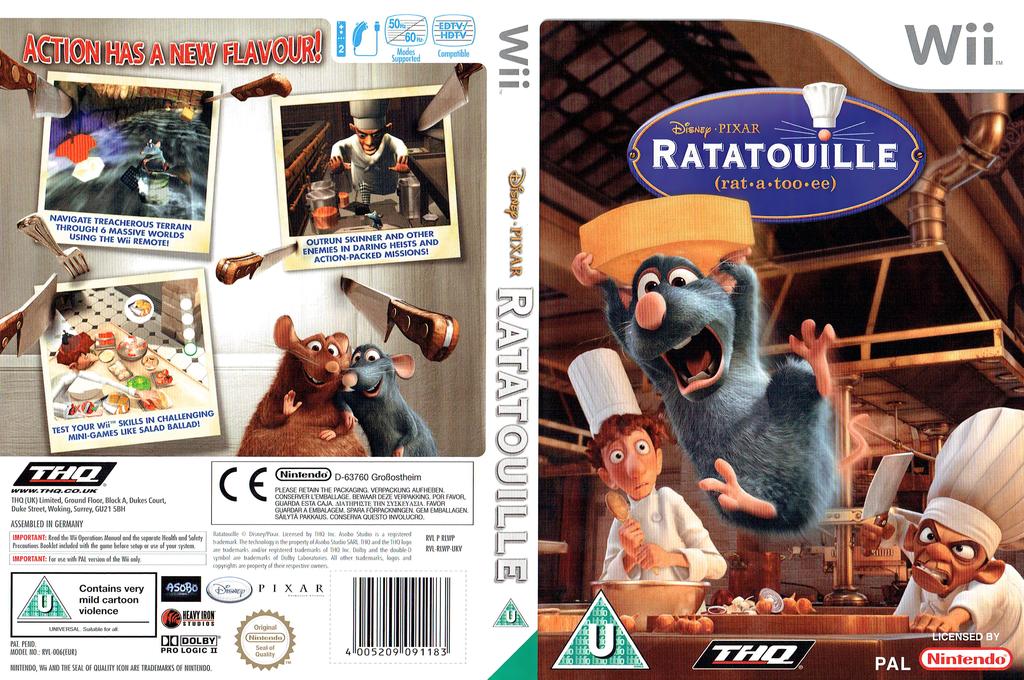 Ratatouille Wii coverfullHQ (RLWP78)