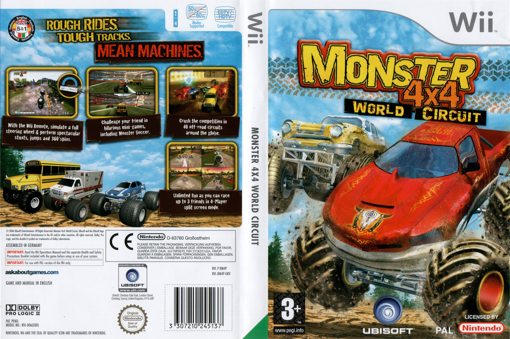 Monster 4x4: World Circuit Array coverfullHQ (RM4P41)