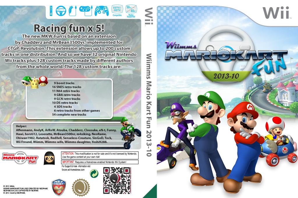 Wiimms MKW Fun 2013-10.pal Wii coverfullHQ (RMCP22)