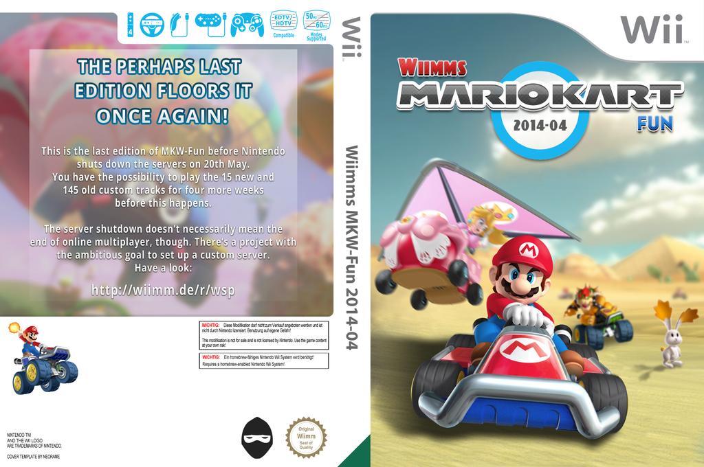 Wiimms MKW Fun 2014-04.pal Wii coverfullHQ (RMCP25)