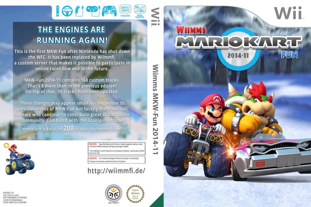 Wiimms MKW Fun 2014-11.pal Wii coverfullHQ (RMCP26)