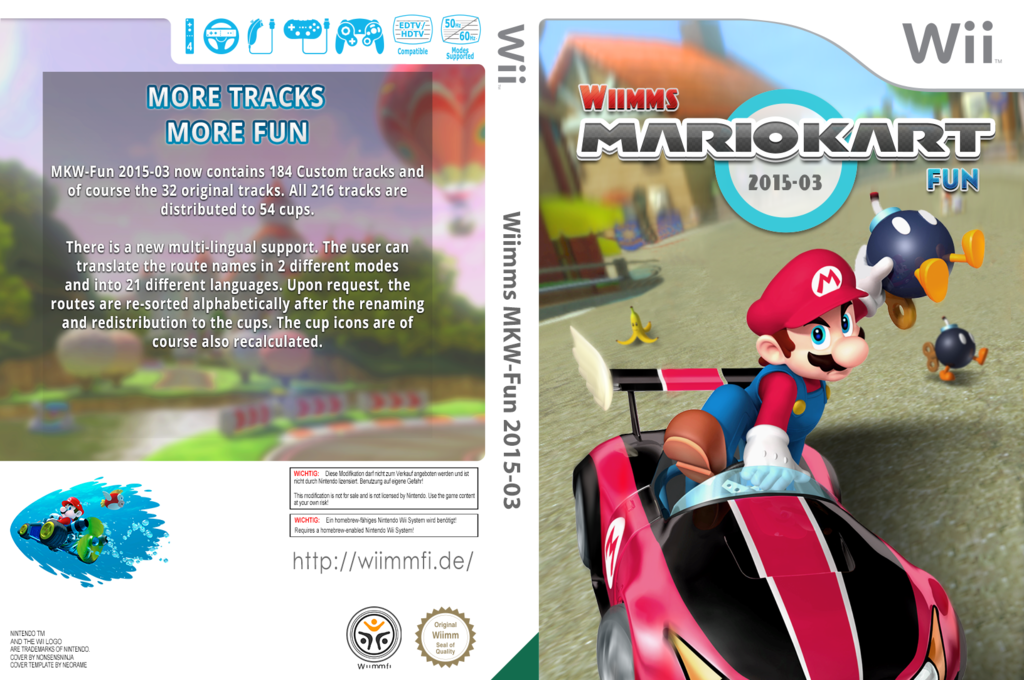 Wiimms MKW-Fun 2015-03.pal Wii coverfullHQ (RMCP27)