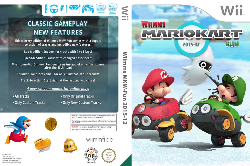 Wiimms MKW-Fun 2015-12.pal Wii coverfullHQ (RMCP30)