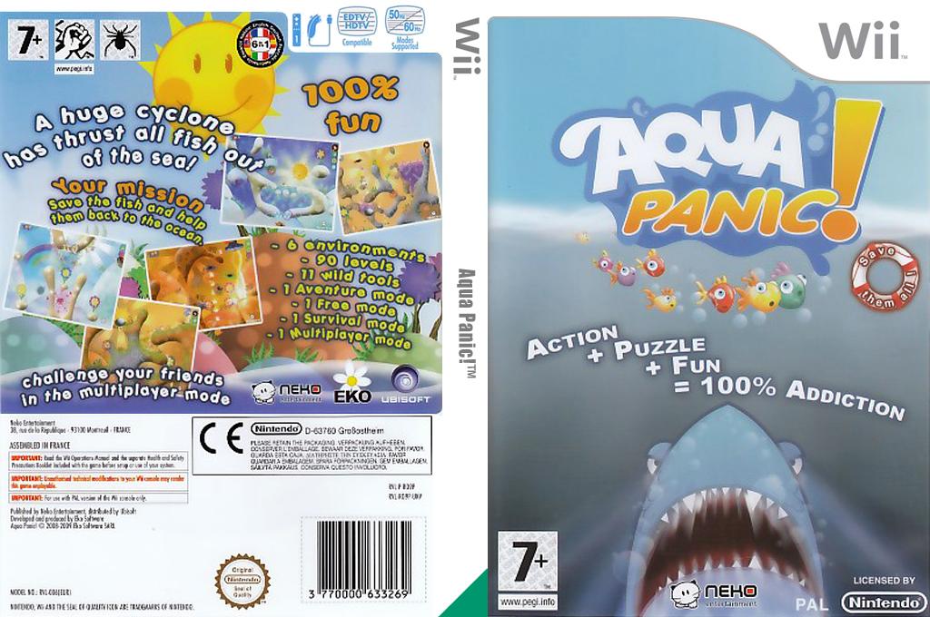 Aqua Panic! Wii coverfullHQ (RO9PNK)
