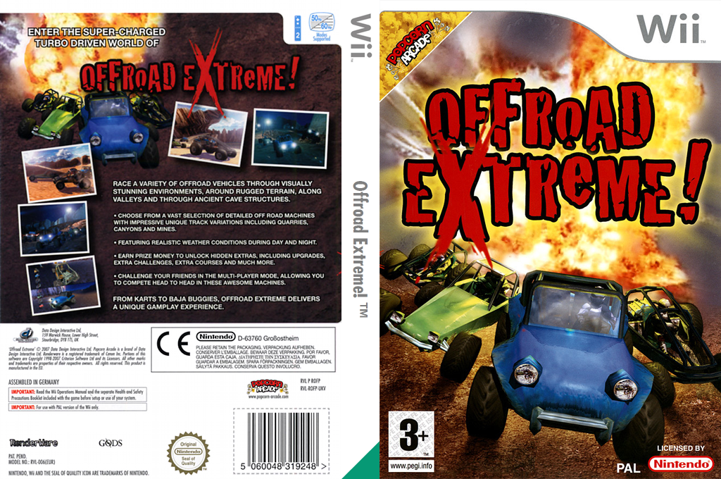 Offroad Extreme! Wii coverfullHQ (ROFPUG)