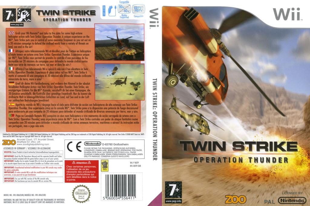 Twin Strike: Operation Thunder Wii coverfullHQ (ROTP7J)