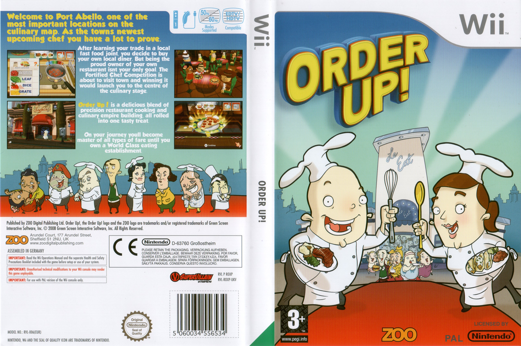 Order Up! Wii coverfullHQ (ROXX7J)