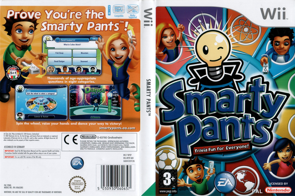 Smarty Pants Wii coverfullHQ (RP2P69)