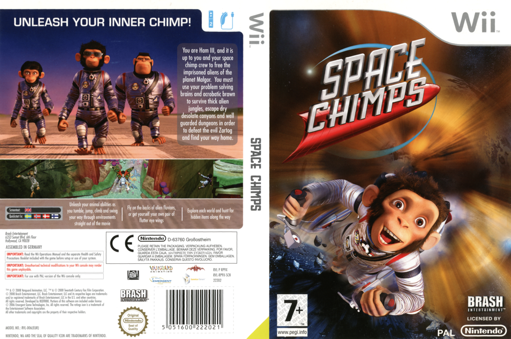 Space Chimps Wii coverfullHQ (RP9XRS)