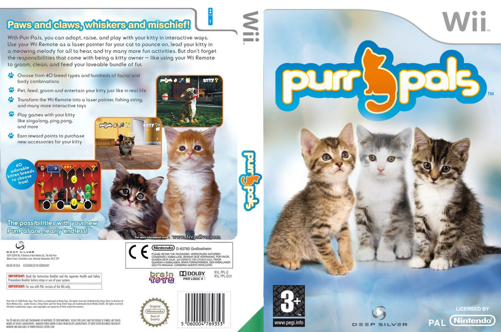 Purr Pals Wii coverfullHQ (RPVPKM)