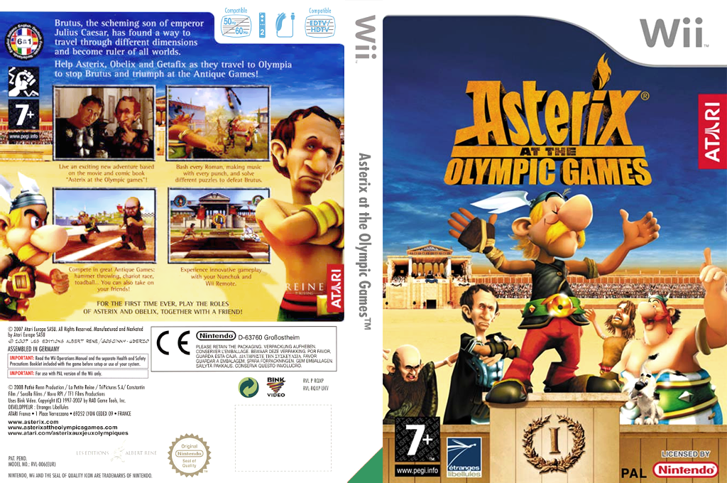 Asterix at the Olympic Games Wii coverfullHQ (RQXP70)