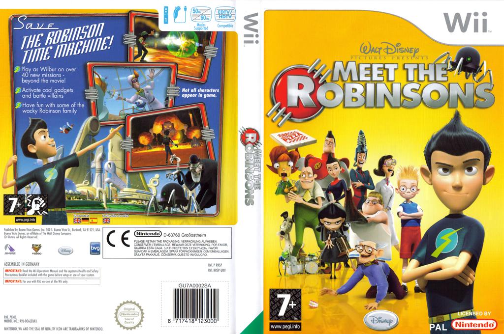 Meet The Robinsons Wii coverfullHQ (RRSX4Q)