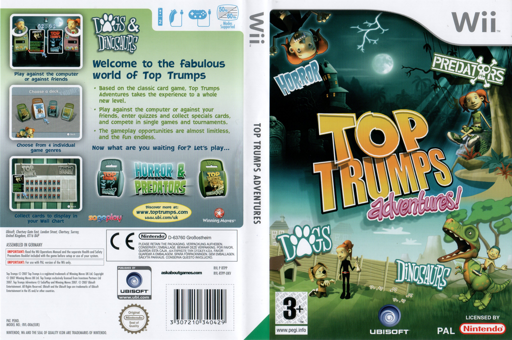 Top Trumps Adventures Wii coverfullHQ (RTPP41)