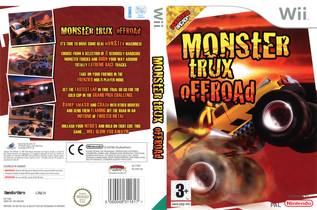 Monster Trux Offroad Wii coverfullHQ (RTQPUG)