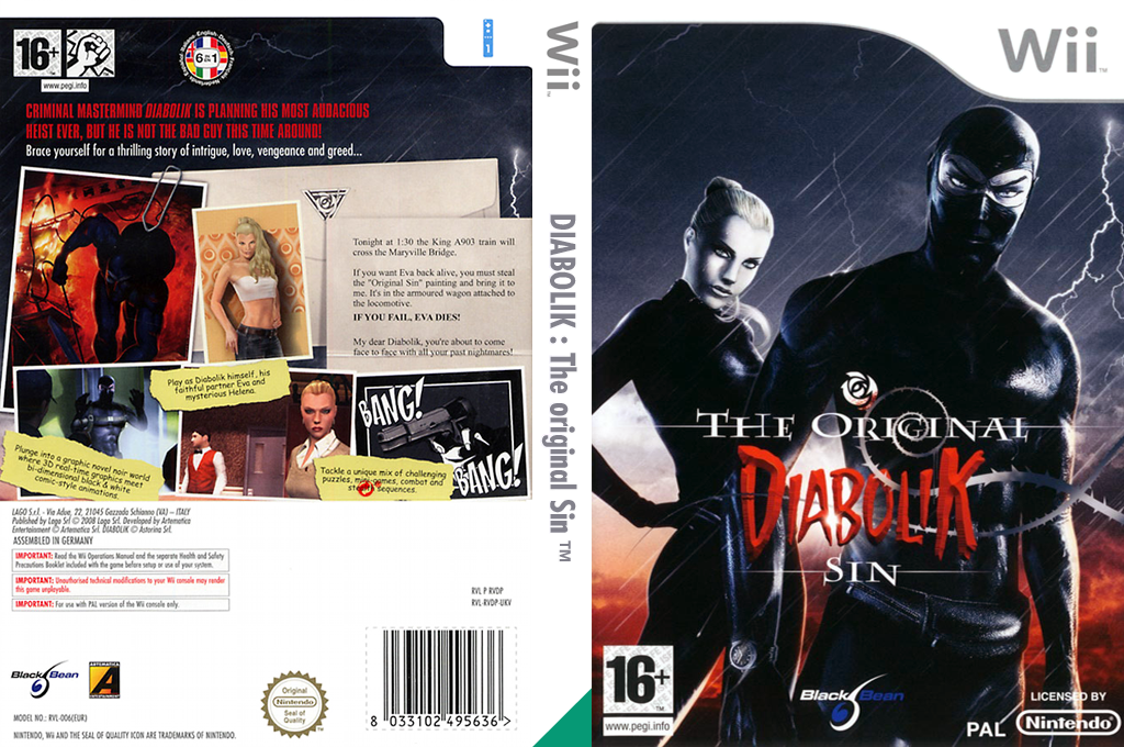Diabolik: The Original Sin Wii coverfullHQ (RVDPLG)