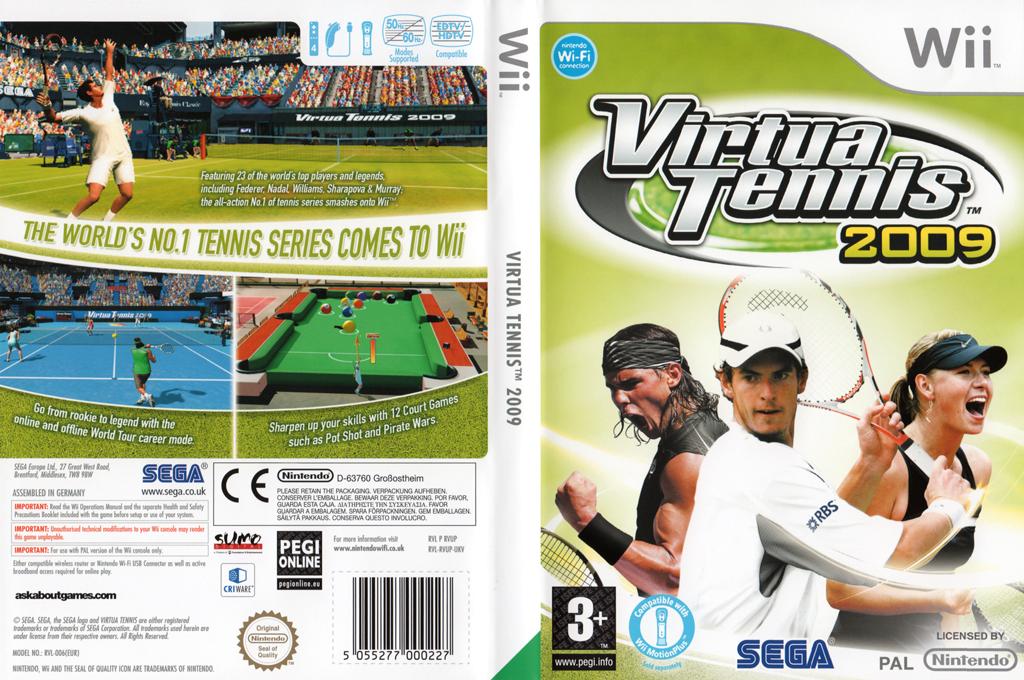 Virtua Tennis 2009 Wii coverfullHQ (RVUP8P)