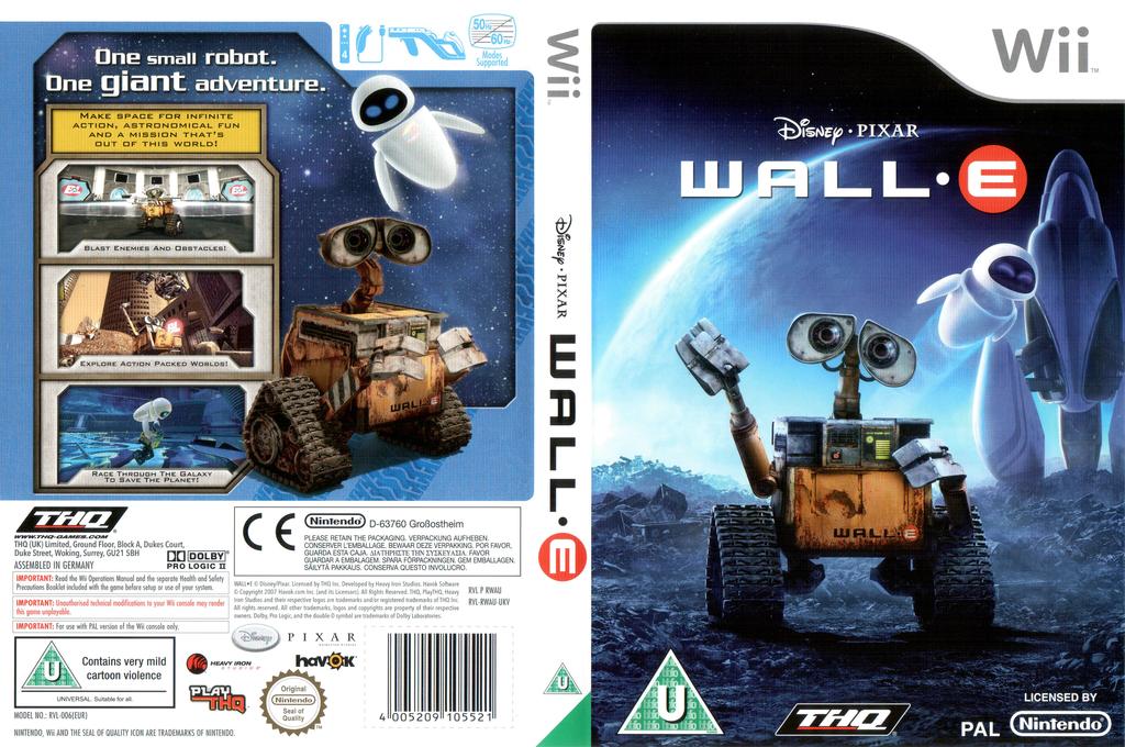 WALL•E Wii coverfullHQ (RWAU78)
